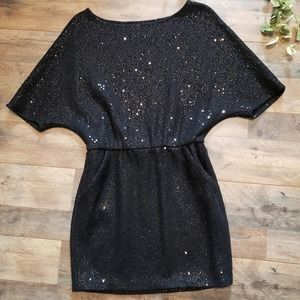 Bird by Juicy Couture Wool Sequin Mini Dress S